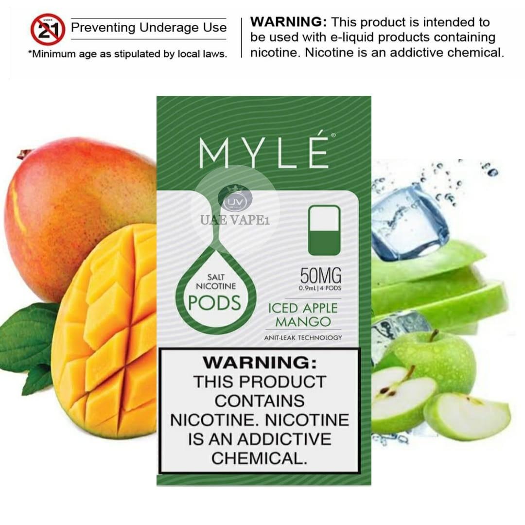 MYLÉ v4 Iced Apple Mango pod