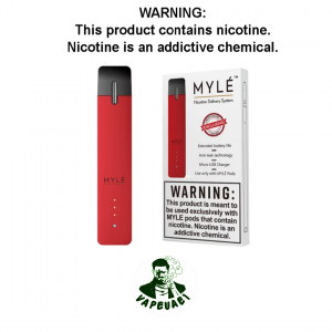 MYLE DEVICE HOT RED