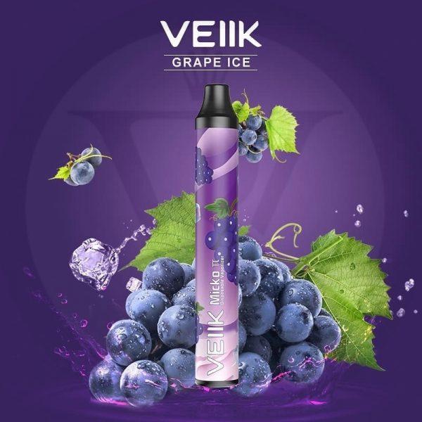 Veiik micko tt disposable Grape ice