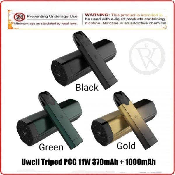 Uwell Tripod PCC Pod Kit 370mAh