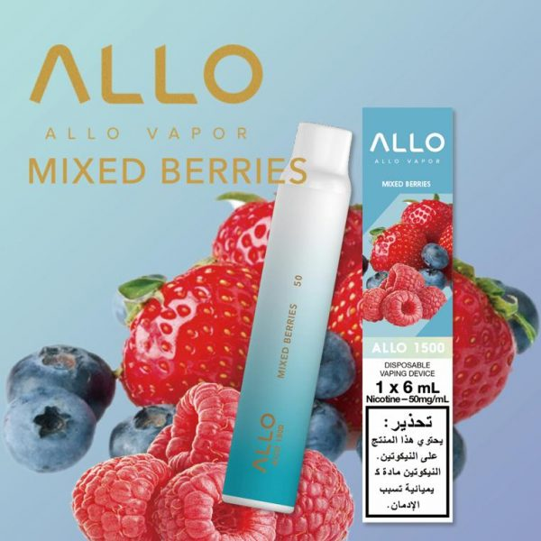 MIXED BERRIES ALLO 1500 DISPOSABLE