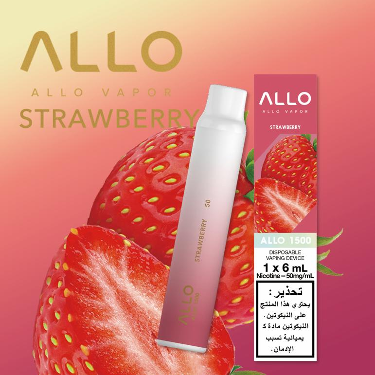 STRAWBERRY BY ALLO 1500 DISPOSABLE