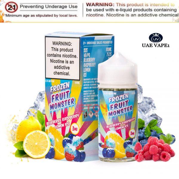 Blueberry Raspberry Lemon Ice by Frozen Fruit Monster 100ml