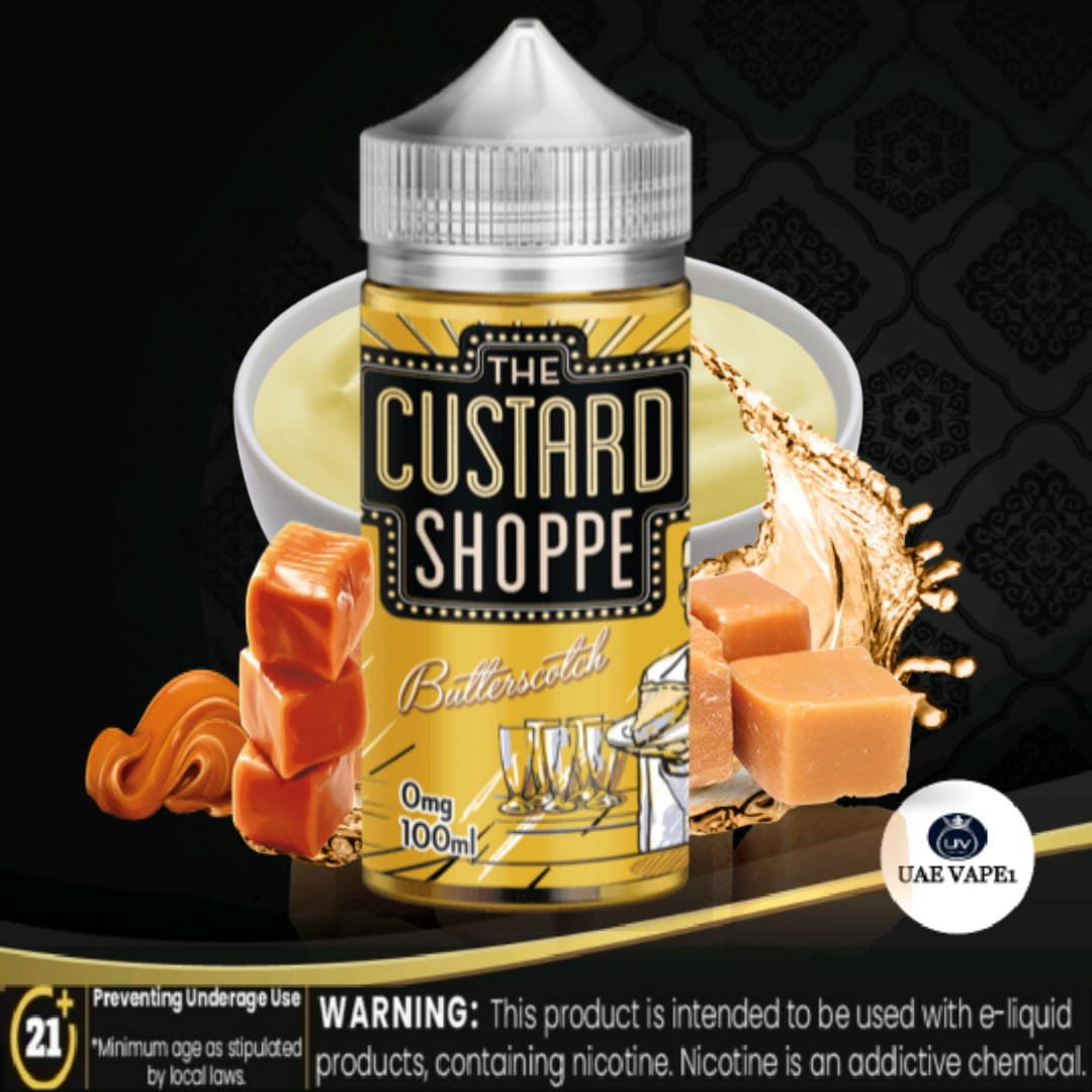 Butterscotch by The Custard Shoppe 100ml