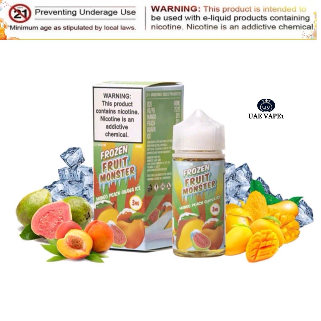 Frozen Fruit Monster Mango Peach Guava ice 100ml