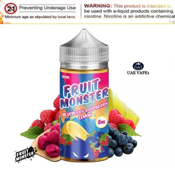 Blueberry Raspberry Lemon by Fruit Monster 100ml