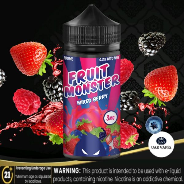 Mixed Berry by Fruit Monster 100ml