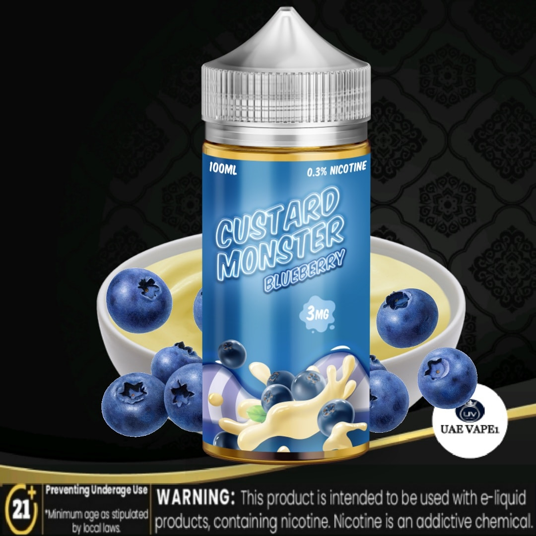 Custard Monster E Liquid blueberry 100ml