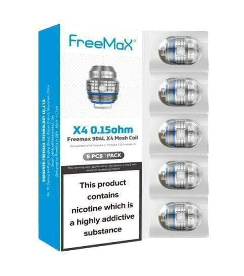 Freemax 904L X Mesh Replacement Coils (1)