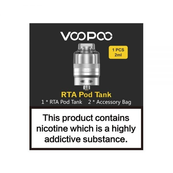 Voopoo RTA Pod Tank