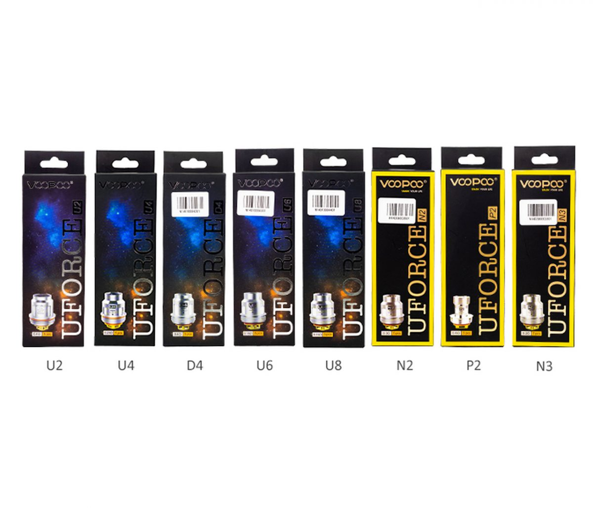 Voopoo Uforce Replacement Coils (5 Pack)