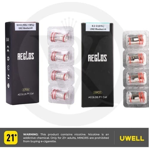 Uwell Aeglos P1 Replacement Coil