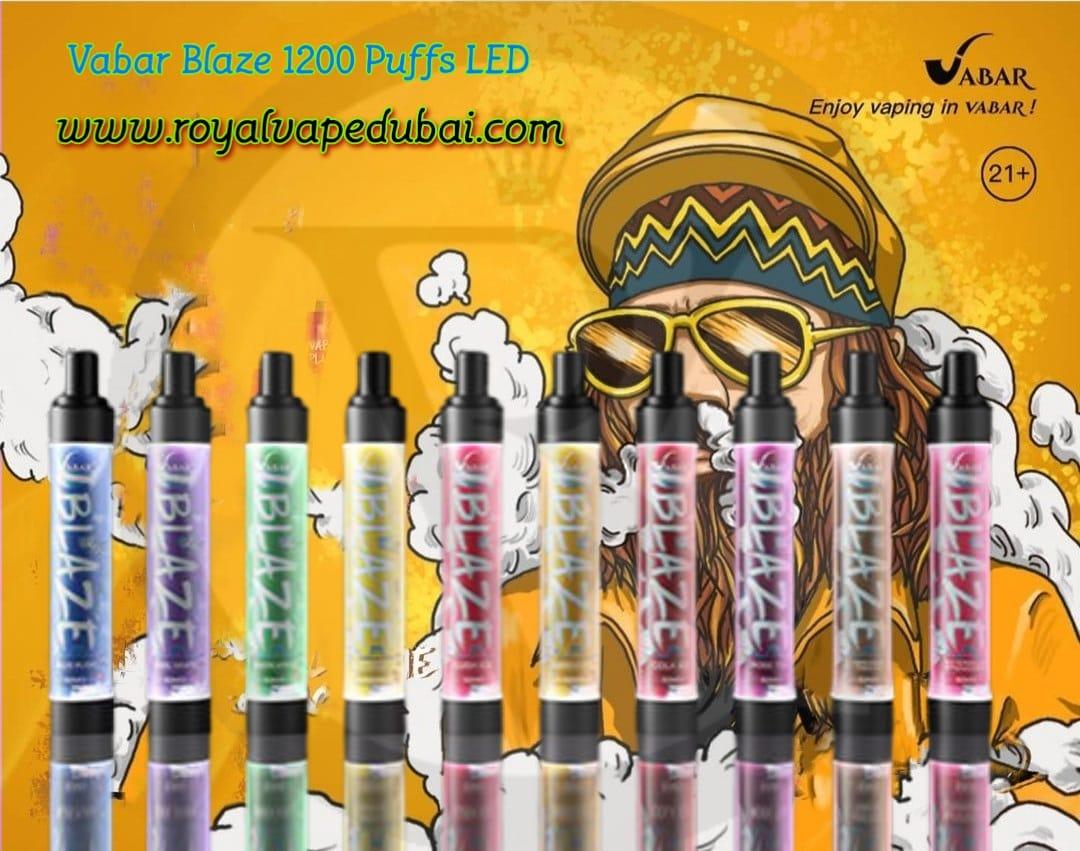 Vabar Blaze 1200 puffs LED