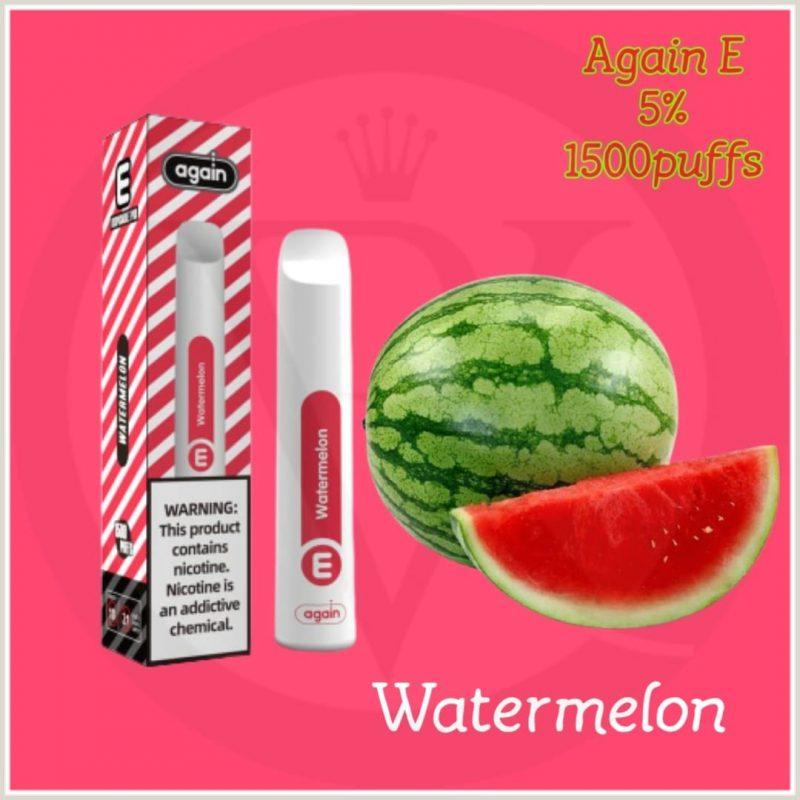 Again E Disposable Watermelon 1500 puffs